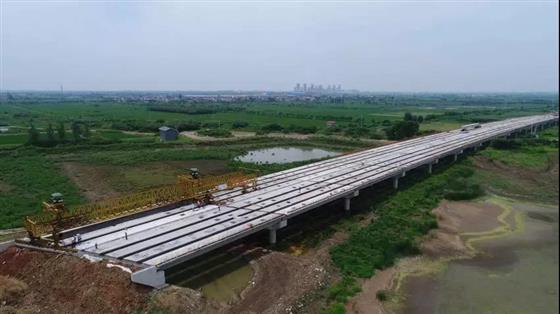 溧高高速公路(常州段)全线贯通