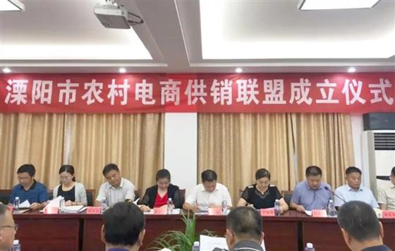 溧阳市供销合作社成立农村电商供销联盟