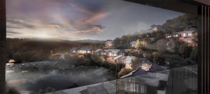 斥资约280亿元的曹山未来城最新效果图曝光~