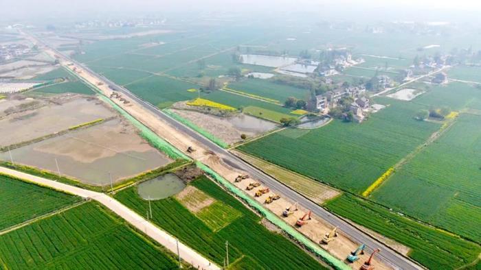 宁杭高铁(溧阳站)至南沿江高铁(金坛站)连接线项目举行隆重的开工仪式