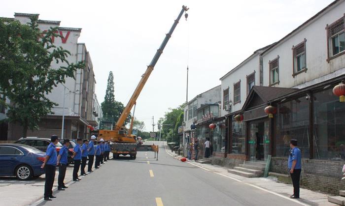 """溧阳城管""""四举措""""给在建违法建设戴上""""紧箍咒"""""""